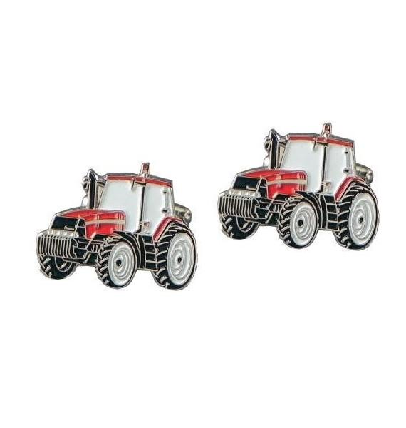 Gemelos Tractor Rojo