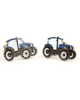 Gemelos Tractor Azul