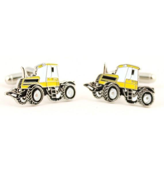 Gemelos Tractor Amarillo