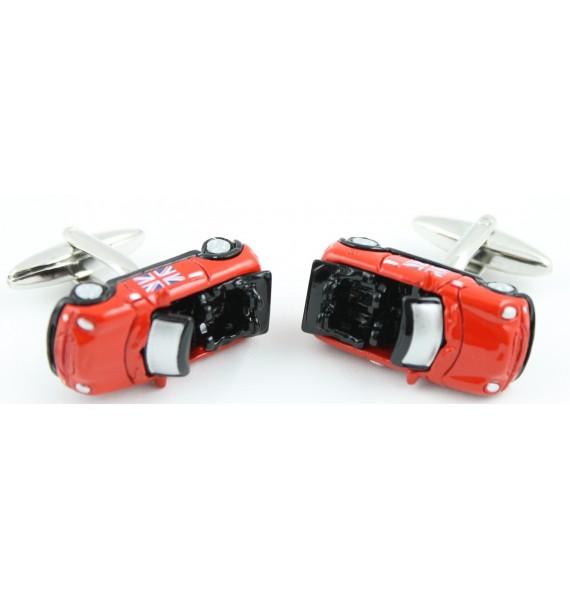 Gemelos Mini Cooper Cabrio Bandera UK