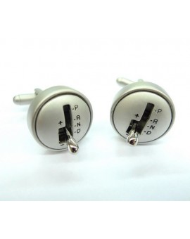 Movable Gear Lever Cufflinks