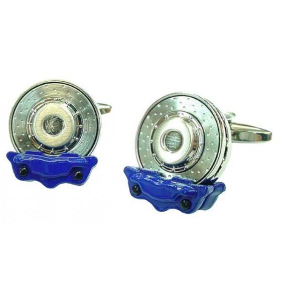 Gemelos Disco de Freno Azul