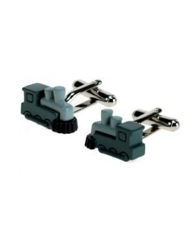 Train Engine Cufflinks