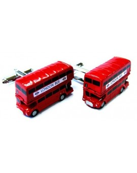 London Open Top Bus Cufflinks