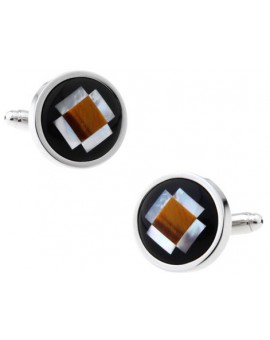 Onyx Art Deco Cufflinks