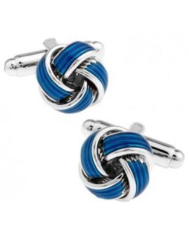 Blue Knot Cufflinks