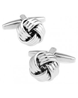 Three Layers Knot Cufflinks