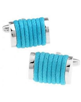 Turquoise Rope Cufflinks