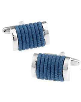 Blue Rope Cufflinks