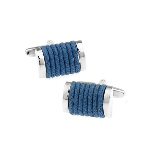 Blue Rope Cufflinks
