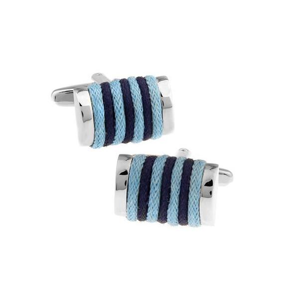 Gemelos Cuerda Azul Marino y Azul