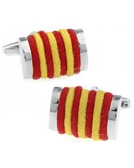 Gemelos Cuerda Rojo y Amarillo