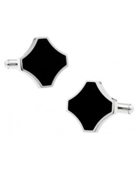 Black and Silver III Cufflinks