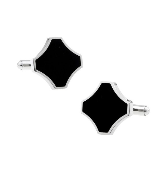 Black and Silver III Cufflinks