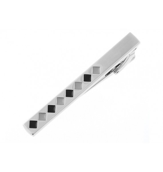 Black Squares Tie Bar