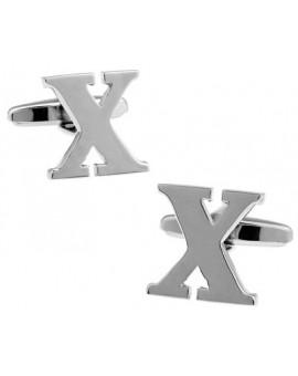 Big Letter X Cufflinks