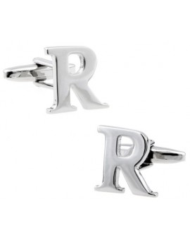 Big Letter R Cufflinks