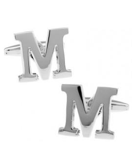 Big Letter M Cufflinks