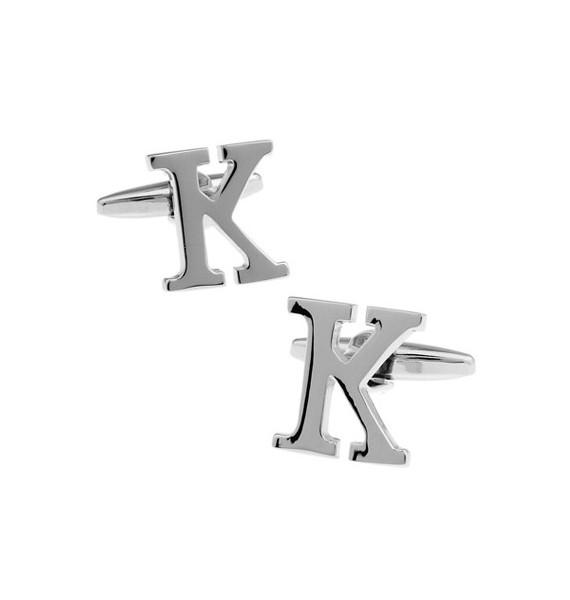 Big Letter K Cufflinks