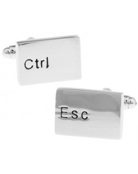 Control and Escape Keys Cufflinks