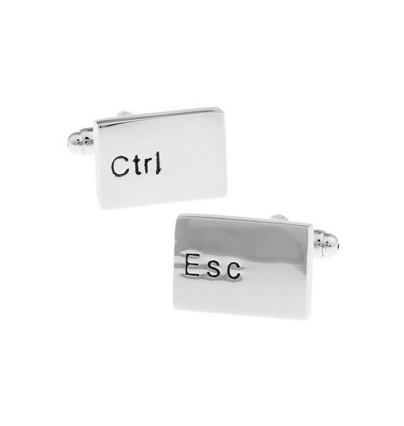 Control and Escape Keys Cufflinks