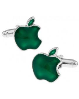 Gemelos Apple Verde