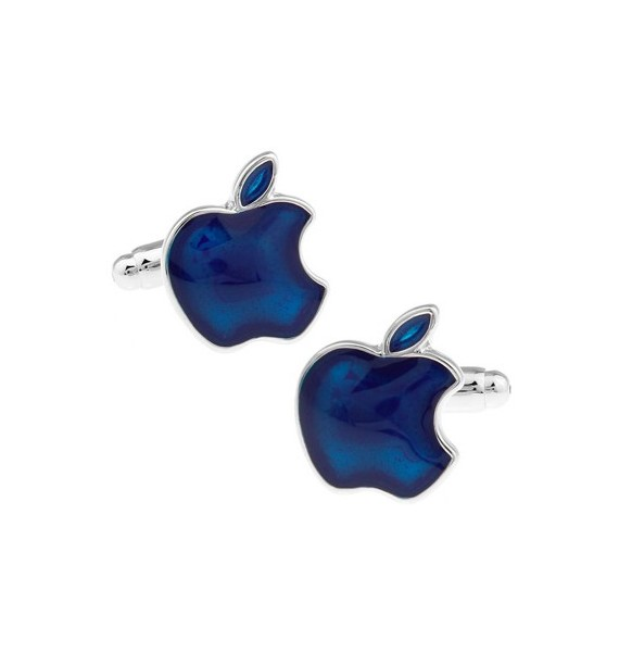 Gemelos Apple Azul