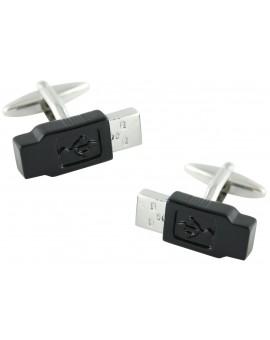 Gemelos USB Negro