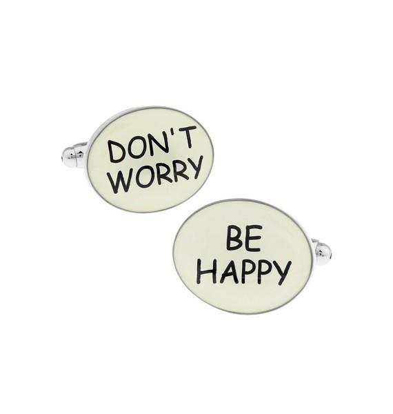 Don´t Worry, Be Happy Cufflinks
