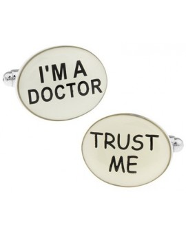 I´m a Doctor, Trust Me Cufflinks