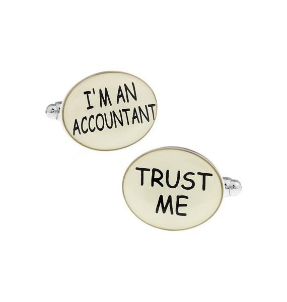 I´m an Accountant, Trust Me Cufflinks