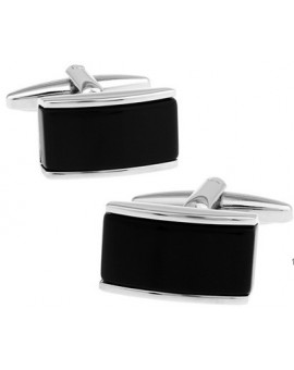 Black and Silver VIII Cufflinks