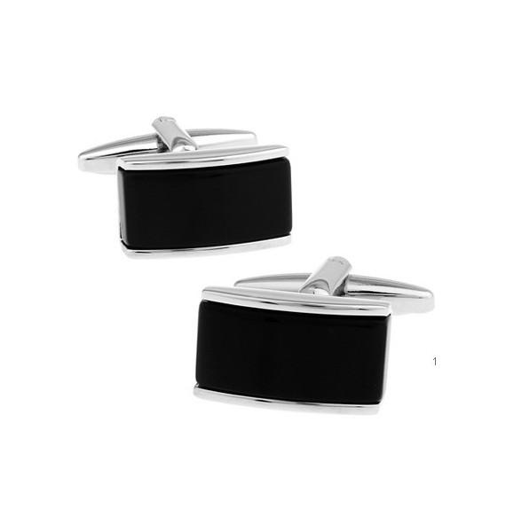 Black and Silver VIII Cufflinks