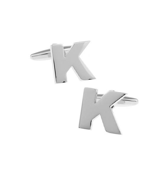 Letter K Cufflinks