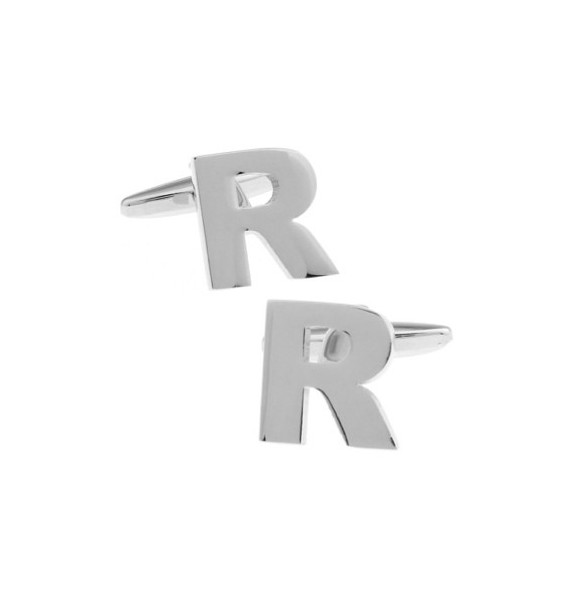 Letter R Cufflinks