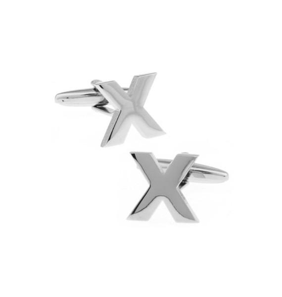 Letter X Cufflinks
