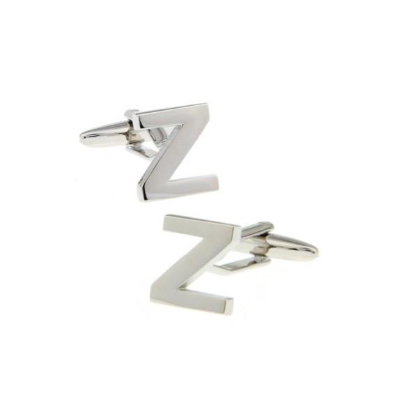 Letter Z Cufflinks