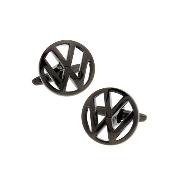 Black Matte Volkswagen Cufflinks
