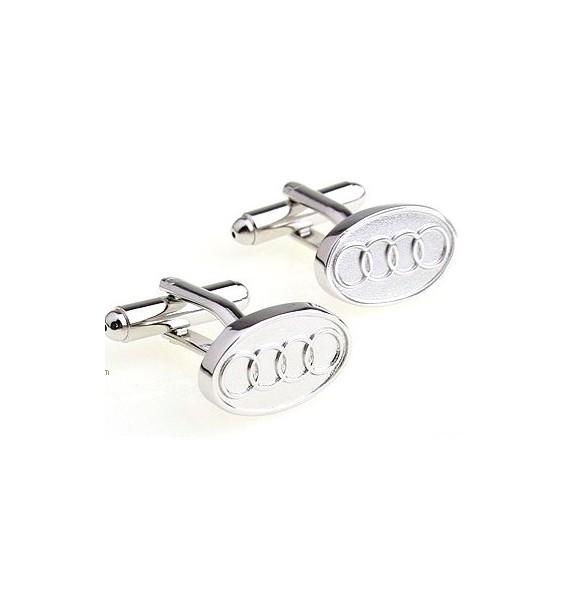 Silver Plated Audi Cufflinks