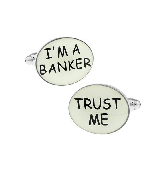 I´m a Banker, Trust Me Cufflinks