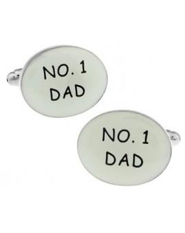 Number One Dad Cufflinks