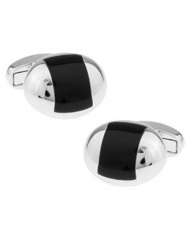 Black and Silver XIII Cufflinks