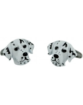 Dalmatian Head Cufflinks