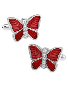 Gemelos Mariposa Roja