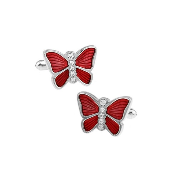 Red Butterfly Cufflinks