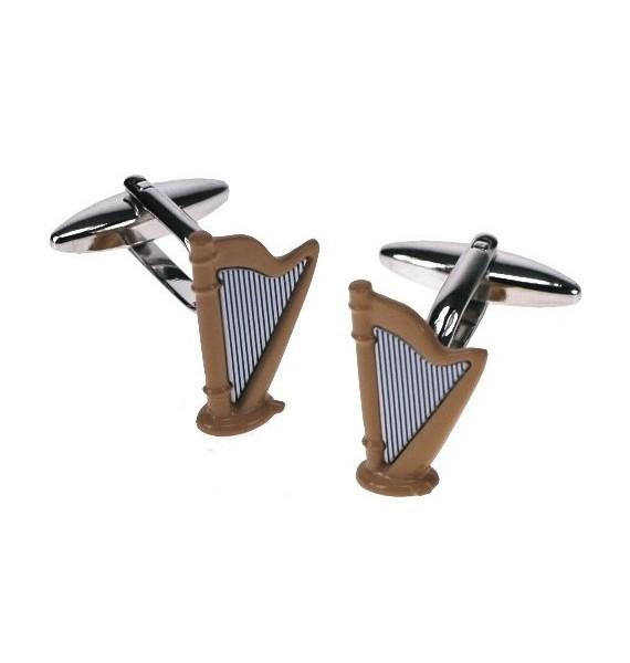 Harp Cufflinks