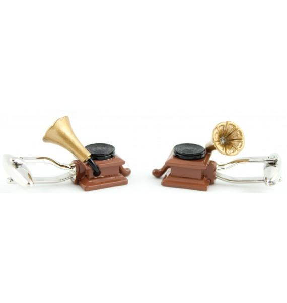 Phonograph Cufflinks