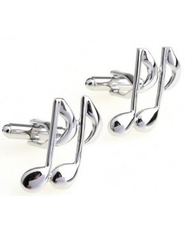 Eighth Note Cufflinks