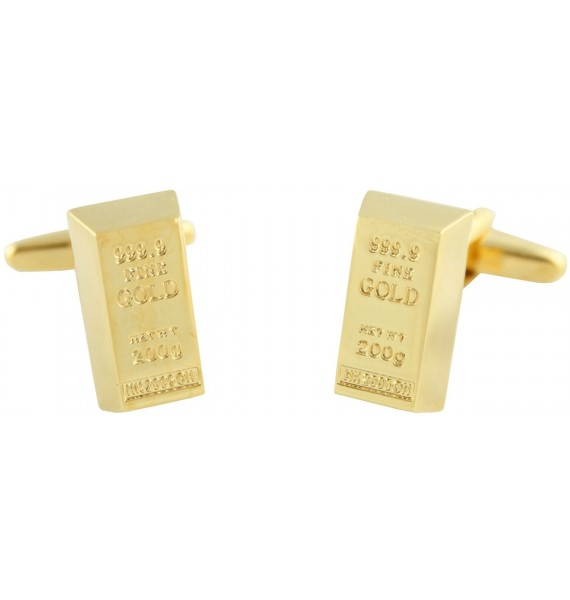 Gemelos Lingote de Oro