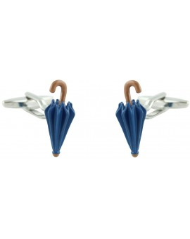 Blue Umbrella Cufflinks